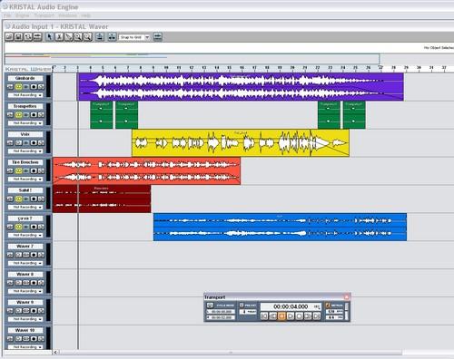 Kristal Audio Engine séquenceur audio