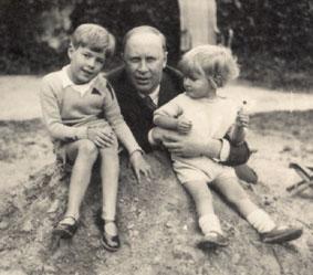 Prokofiev et ses 2 fils