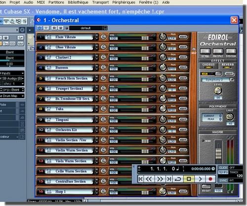Edirol Orchestral