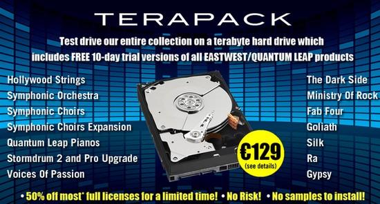 Terapack Sounds Online Eastwest Quantum Leap